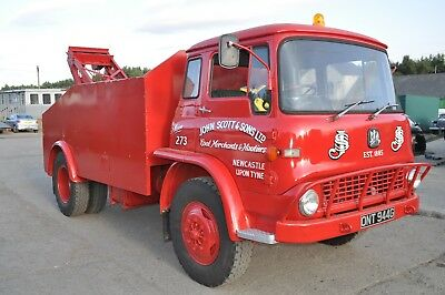 1969 Bedford Tk 1260 Truck  8 Ton Harvey Frost Crane Tax Exempt And In Use