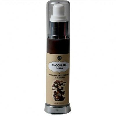 Lubricante Comestible Chocolate Avellanas 50 Ml.