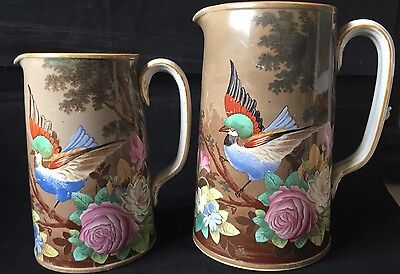 Copeland Milk jugs pattern number D7745 dates from 1871 Onwards Very Decorative