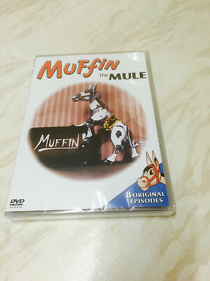 Muffin The Mule (DVD, 2002) 8 Original Episodes - Brand New Sealed
