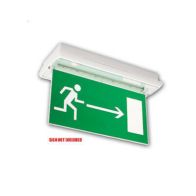 Emergency Exit Sign Fixture (For Use With Adhesive Signs)