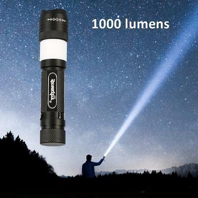 15000LM T6 LED USB Rechargeable 18650 Battery Charger Flashlight Torch Zoom Lamp