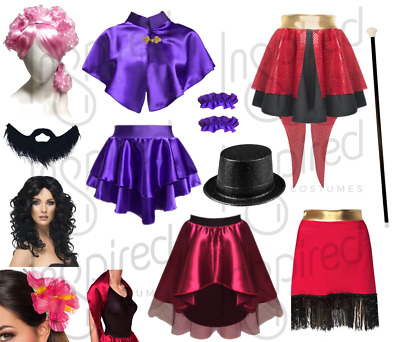 Girls The Greatest Showman Costumes Zendaya Bearded Lady