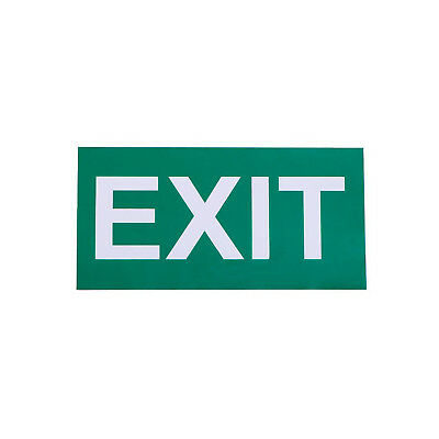 Exit Sign For Emergency Exit Sign Fixture (Adhesive)