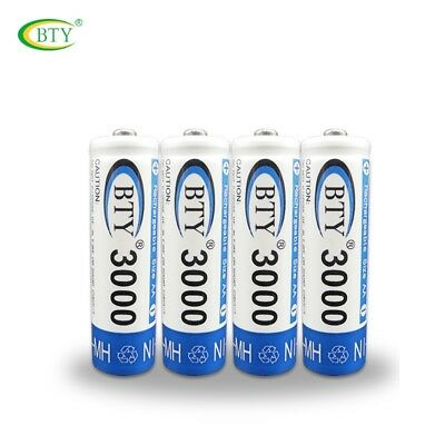 Rechargeable Battery 4-20X BTY AA / AAA  Recharge Batteries 1.2V Ni-MH