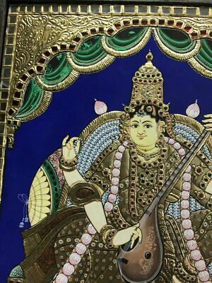 NEW Tanjore painting - Indian Goddess