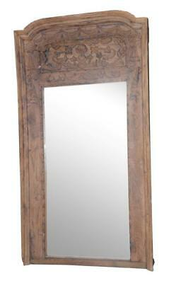 NEW Old Indian Door frame - Large mirror