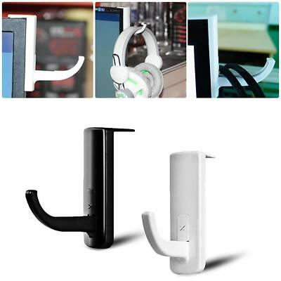 1x Universal Plastic Earphone Headset Holder Hanger Headphone Internet Cafe Hook