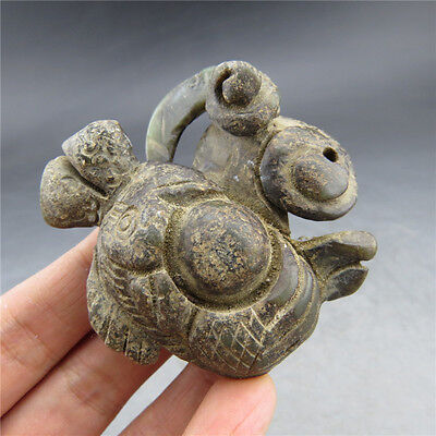 Chinese jade, hand-carved, natural jade, phoenix, pendant  D146