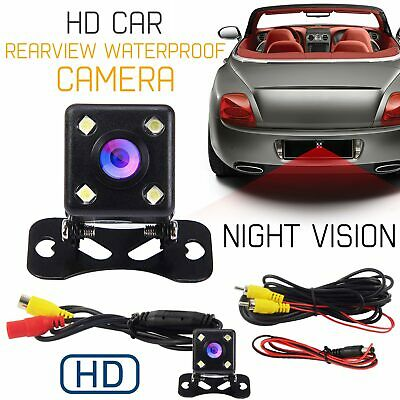 170° HD Waterproof Car Rear View Reversing Backup Full Color Mini Camera