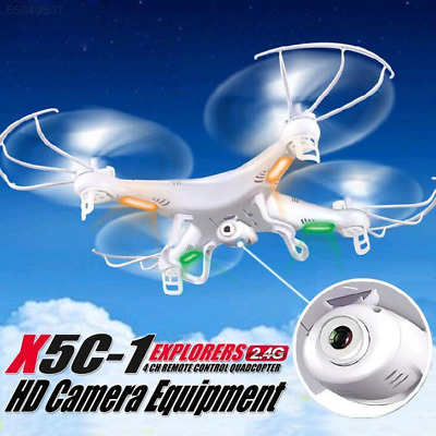 3F6F X5C X5C-1 2.4Ghz 4CH 6Axis RC Quadcopter Drone RTF UFO with Camera White