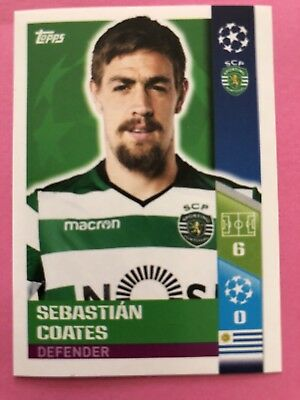 Bruno Fernandes Play-Off Qualifying Teams Champions League Sticker 17//18-494