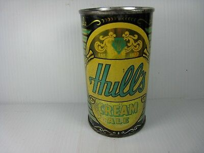 Hulls Cream Ale Flat Top Can, Hull Brewing Co., New Haven, Conn. (NICE)
