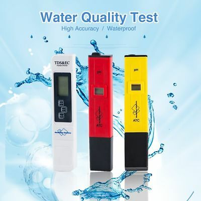 Digital Lcd Tds Tester Ph Meter Ph Strips Lab Home Drinking Water Quality Test