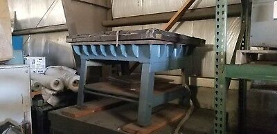 "36"" x 48"" x 9"" Cast Inspection table on stand"