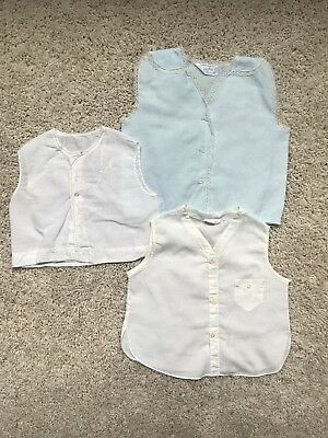 Vintage Diaper Shirts Embroidered