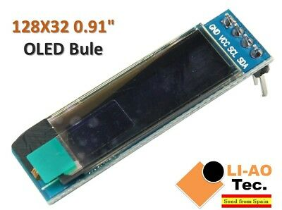 0.91 Inch Blue 128X32 OLED LCD LED Display Module