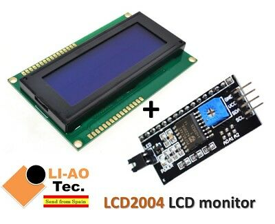 LCD2004 LCD monitor 2004 5V Backlight Screen + IIC I2C Module