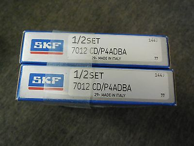 Skf 7012 Cd/p4Adba Super Precision Bearing Set