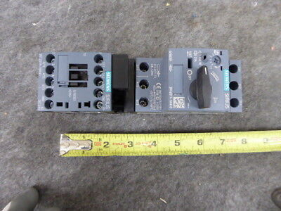 SIEMENS 3RA21101AA151BB4 Self Protected Combination Starter
