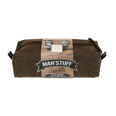 MAN'STUFF by TECHNIC IT'S IN THE BAG Wash Bag Set  great Father's Day gift