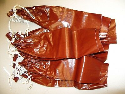 Fibrous casings for sausage 1 1/2 x 12 MAHOGANY 25 casings for 25 LB $12.25