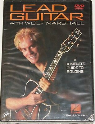Lead Guitar with Wolf Marshall Complete Guide DVD Gitarre Lernmethode NEU OVP