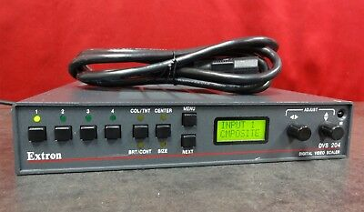 Extron DVS Digital Video Scaler with Power Cable