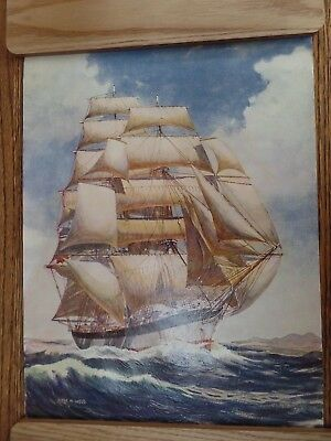 Oil Painting By Peter M Wood In Excellent Condition