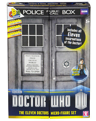 Dr Who 11 Eleven Doctors Micro Figure Character Building 50Th AnniversarySet