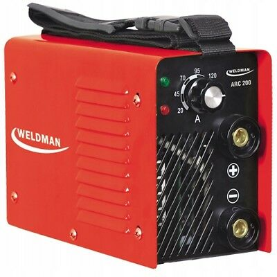 WELDMAN ARC 200 Inverter Welder Machine 200A IGBT Stick 200Amp MMA