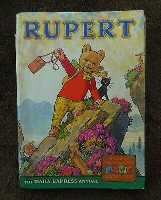 Rupert Annual 1964 - Magic Pages not painted - price not clipped - VF Copy