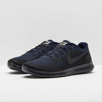 NIKE FREE RN 2017 SHIELD Mens Black Obsidian AA3760 001