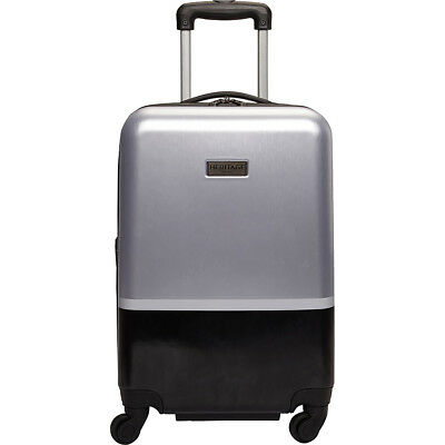"Heritage Charter Park 20"" Expandable Hardside Spinner Hardside Carry-On NEW"