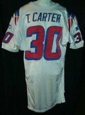 ... where to buy new england patriots tony carter game used worn jersey  1998 mn gophers alum de3493be4