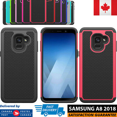 For Samsung Galaxy A8 2018 Case Hybrid ShockProof Defender Protective Cover