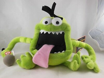 """Hallmark Microphone Mike Monster Talking Voice Recording Plush Toy Doll 8"""""""