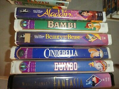 Disney VHS Tape selling individually see Disney Title List Please Read Details..
