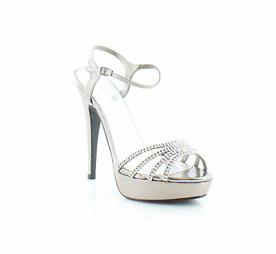 ede60e222f23 Caparros New Belle Silver Womens Shoes Size 9 M Heels MSRP  89