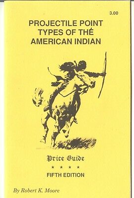 Projectile Point Types of the American Indian 5th Edition Illustrated 1993