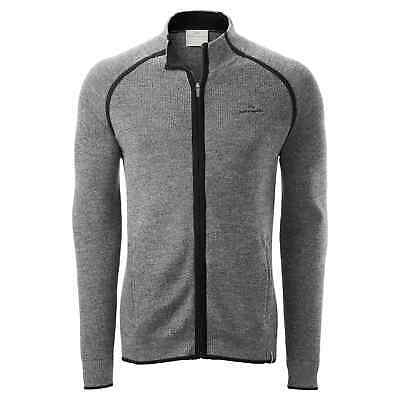 Kathmandu Lomond Men's Zip Thru Knitted Cardigan Top Merino Wool Jacket v3