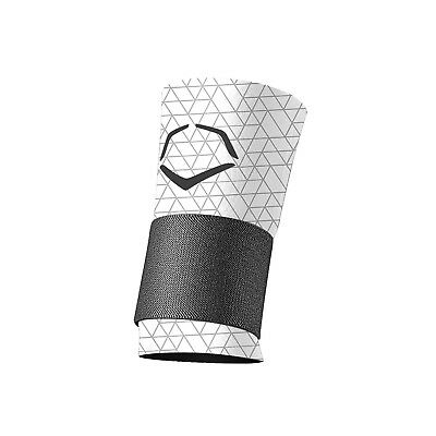 (Small, White) - EvoShield EvoCharge Compression Wrist Sleeve With Strap