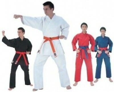 Blue Fighter Plus Karate Middle Weight Uniform (Size 5) from Starpak. Best Price