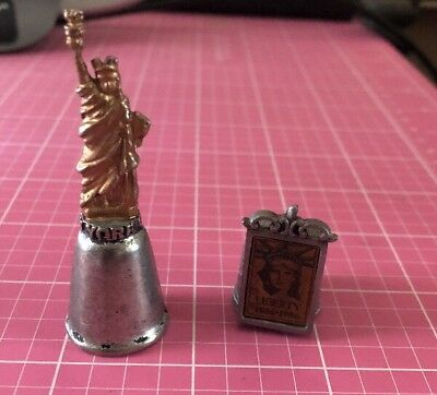 Statue Of Liberty Pewter Thimbles