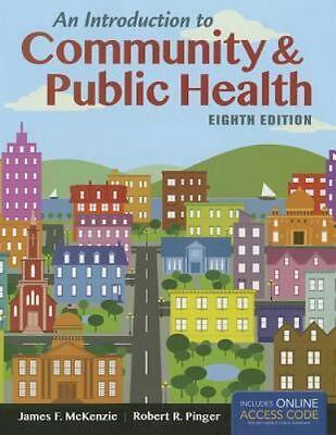 An introduction to community public health 9th edition 8500 an introduction to community and public health by james f mckenzie and fandeluxe Images