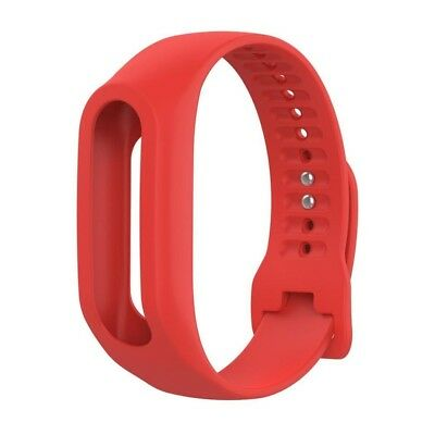 (Red) - Lisin Replacement Silicone Band Strap For TomTom Touch Cardio Activity