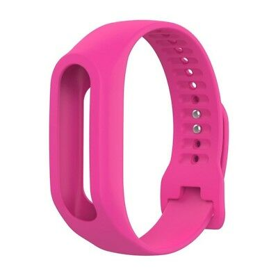 (Hot Pink) - Lisin Replacement Silicone Band Strap For TomTom Touch Cardio
