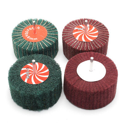 Red/Green Nylon Grinding Flap Polishing wire Wheel Various Size ginding wheel