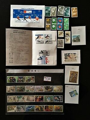 Japanese Nippon Stamps 50 Stamps Mostly New Some Used