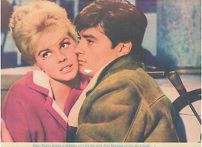 Once A Thief Ann Margret Alain Delon Kissing Vintage Original U.s. Lobby Card #2